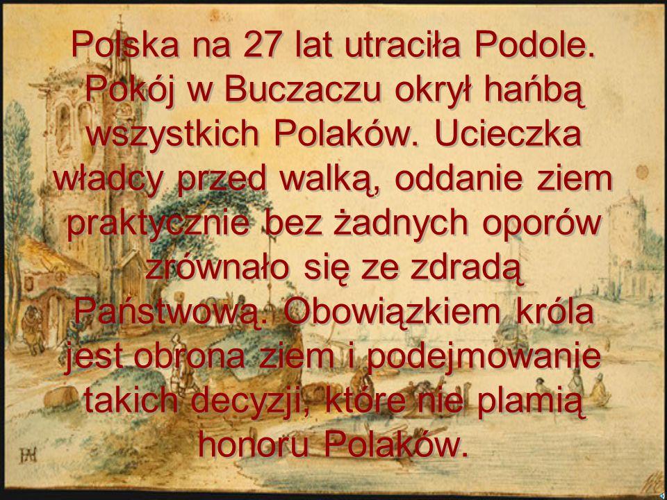 Polska na 27 lat utraciła Podole