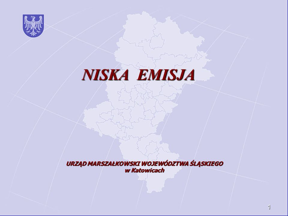 URZĄD MARSZAŁKOWSKI WOJEWÓDZTWA ŚLĄSKIEGO w Katowicach