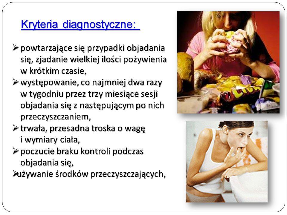 Kryteria diagnostyczne: