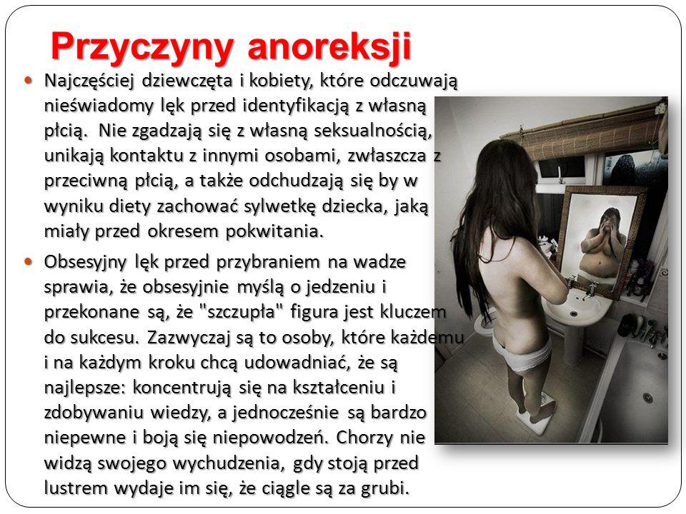 Przyczyny anoreksji