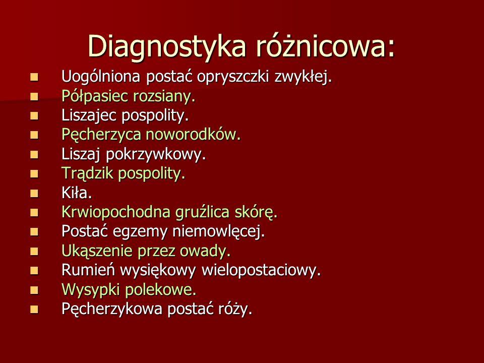Diagnostyka różnicowa: