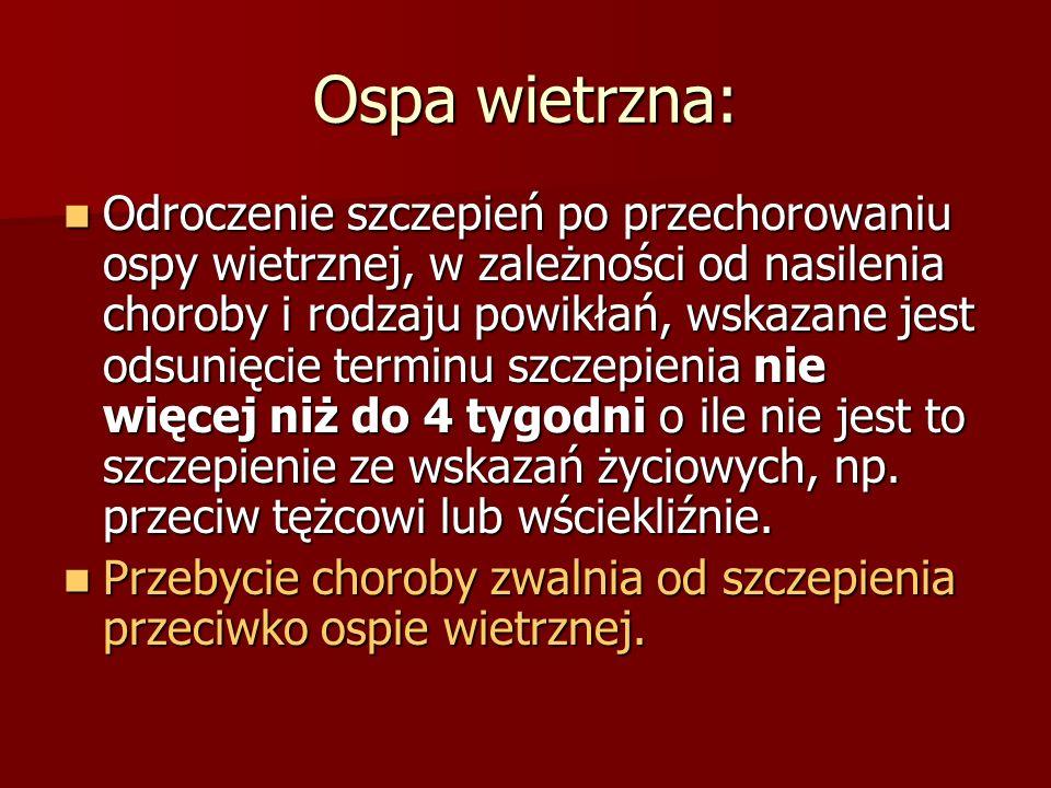 Ospa wietrzna: