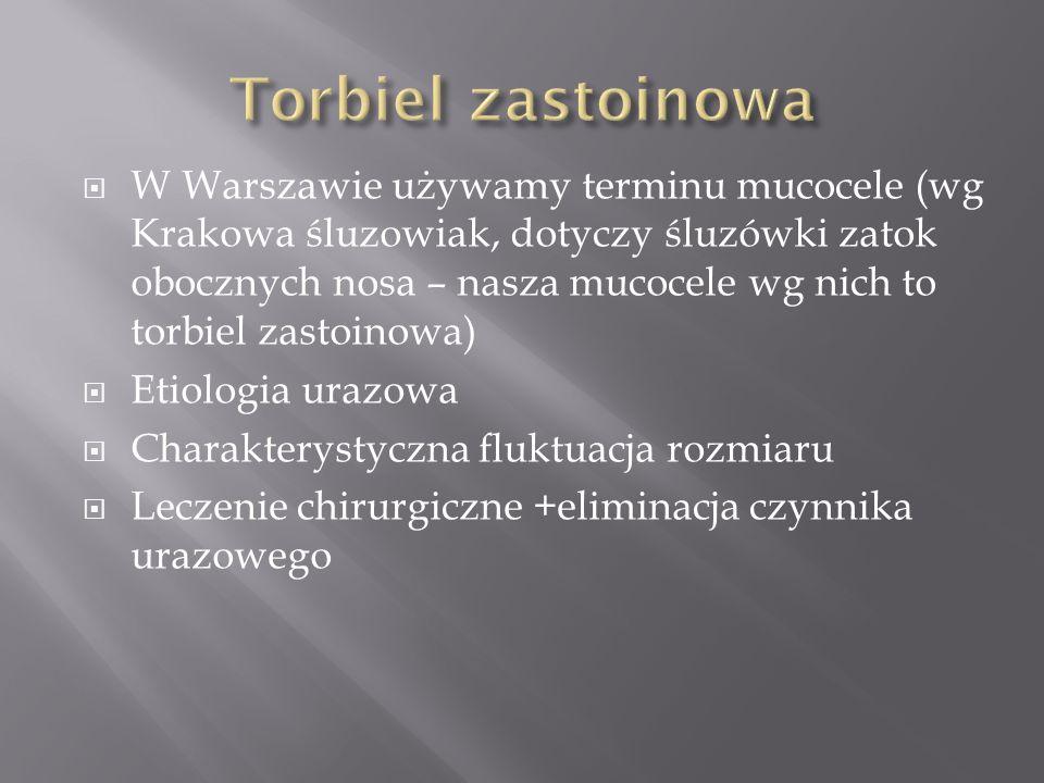 Torbiel zastoinowa