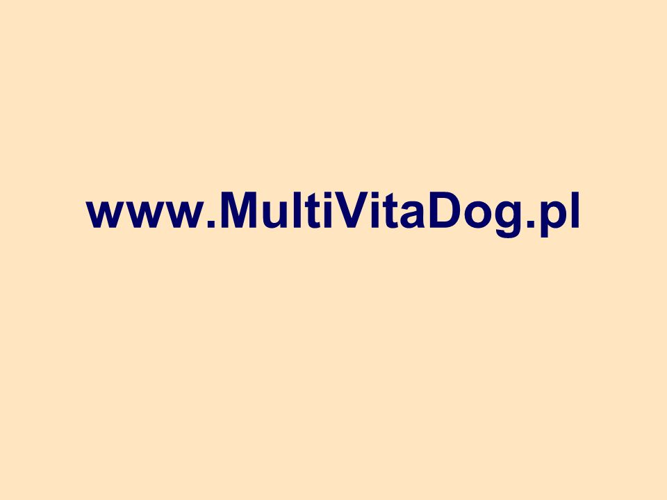 www.MultiVitaDog.pl