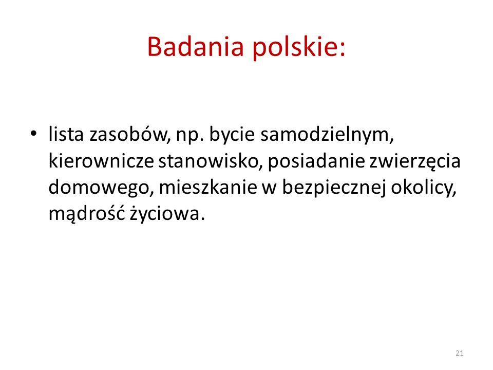 Badania polskie: