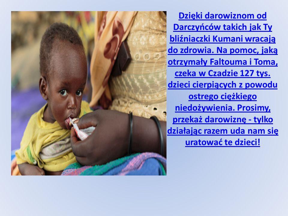 Dzięki darowiznom od Darczyńców takich jak Ty bliźniaczki Kumani wracają do zdrowia.