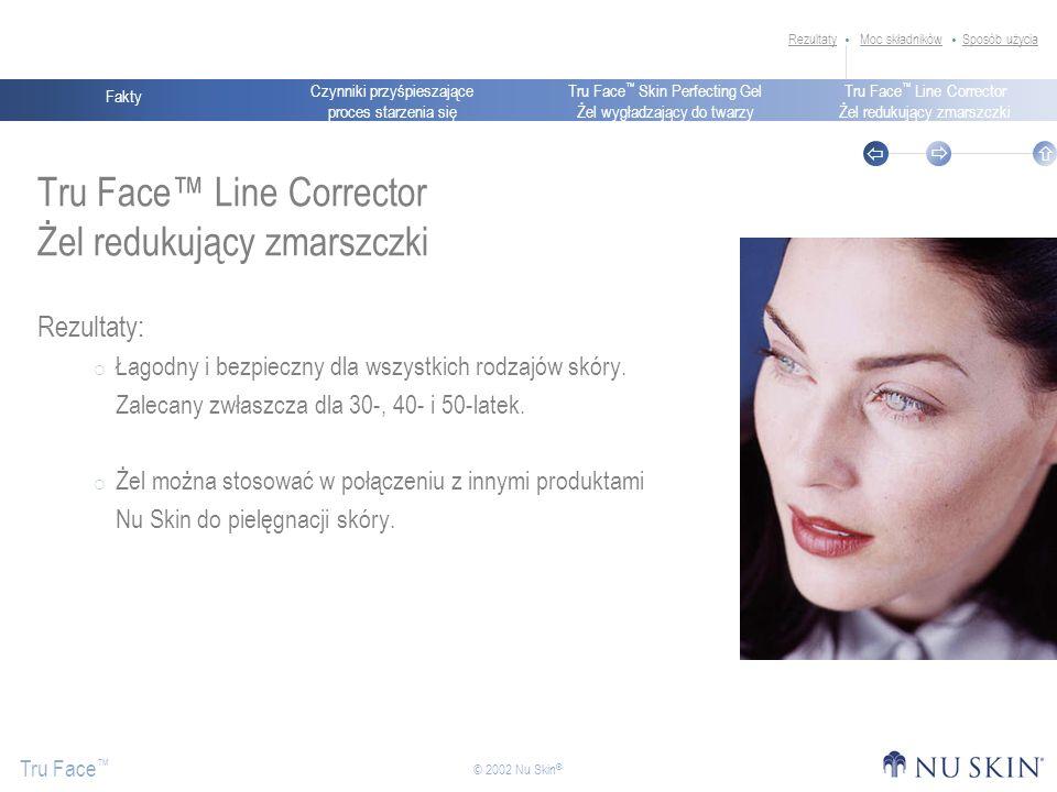 Tru Face™ Line Corrector Żel redukujący zmarszczki