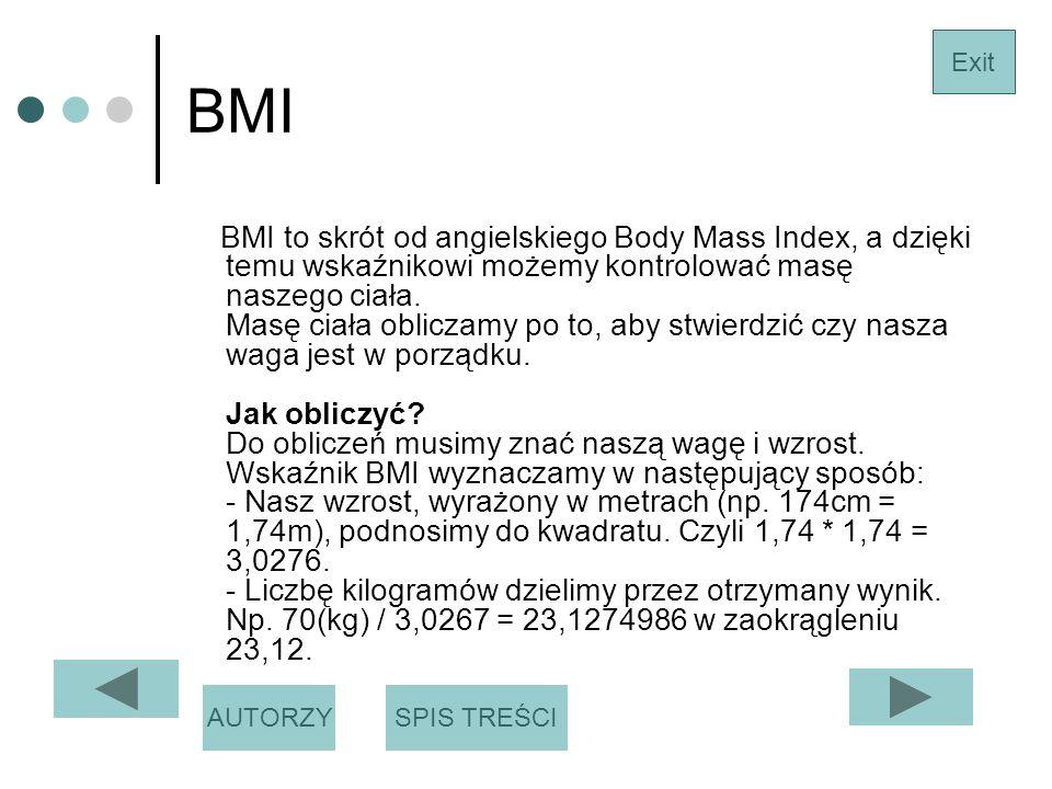 BMI Exit.