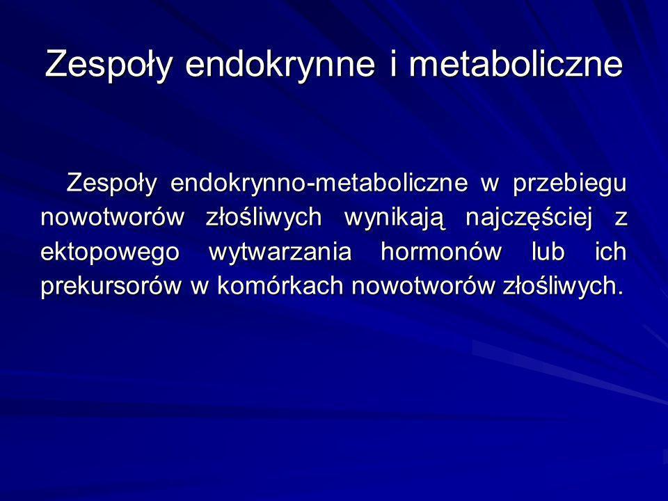 Zespoły endokrynne i metaboliczne
