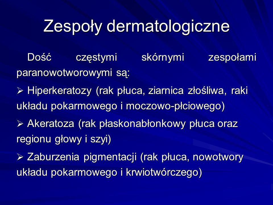 Zespoły dermatologiczne