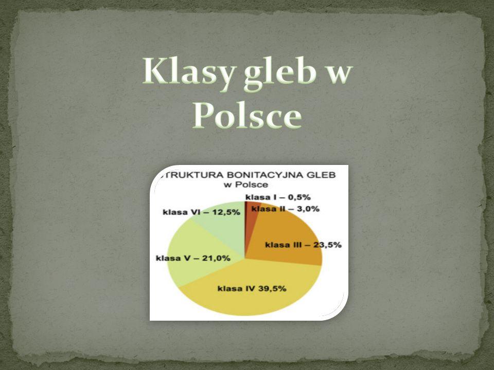Klasy gleb w Polsce