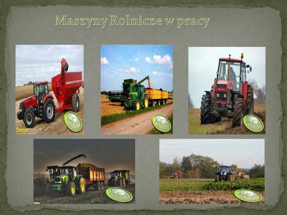 Maszyny Rolnicze w pracy