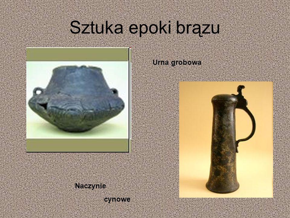 Sztuka epoki brązu Urna grobowa Naczynie cynowe