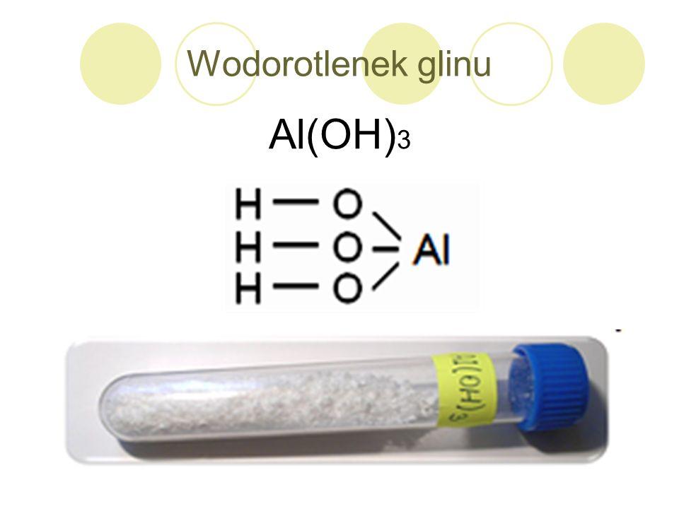 Wodorotlenek glinu Al(OH)3