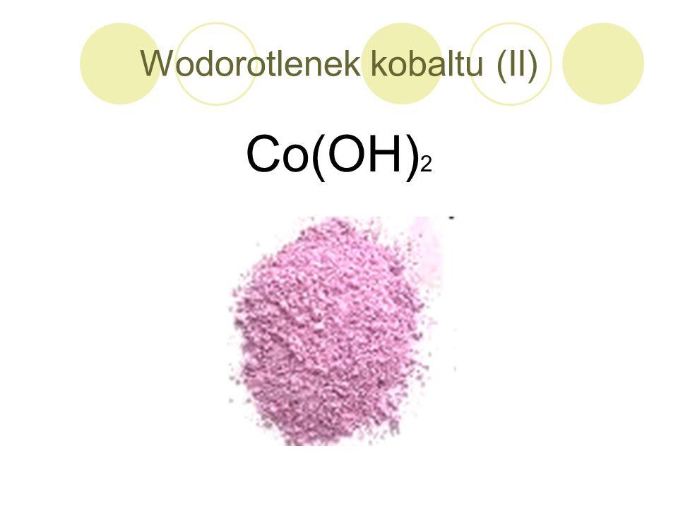 Wodorotlenek kobaltu (II)