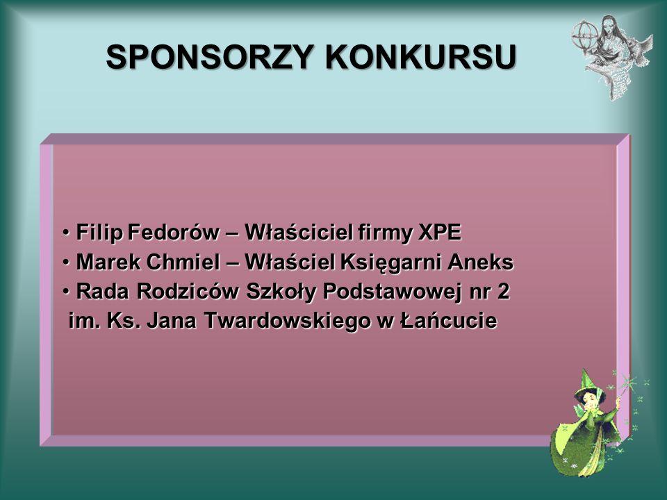 SPONSORZY KONKURSU Filip Fedorów – Właściciel firmy XPE