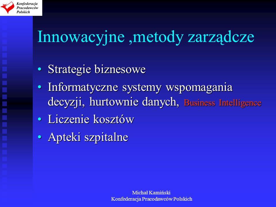 Innowacyjne ,metody zarządcze