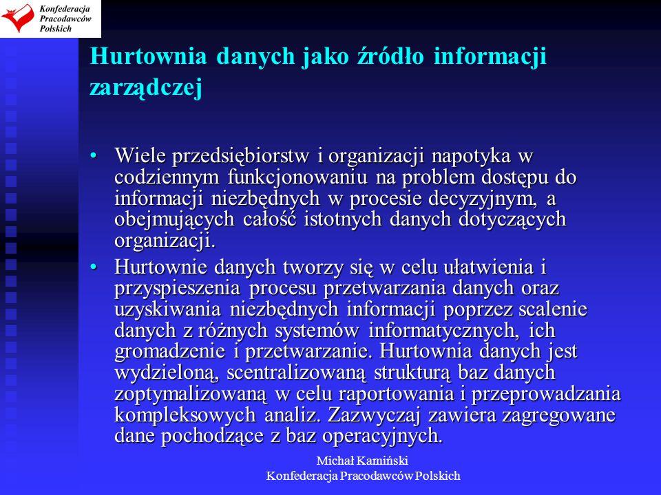 Hurtownia danych jako źródło informacji zarządczej