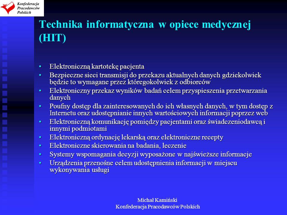 Technika informatyczna w opiece medycznej (HIT)