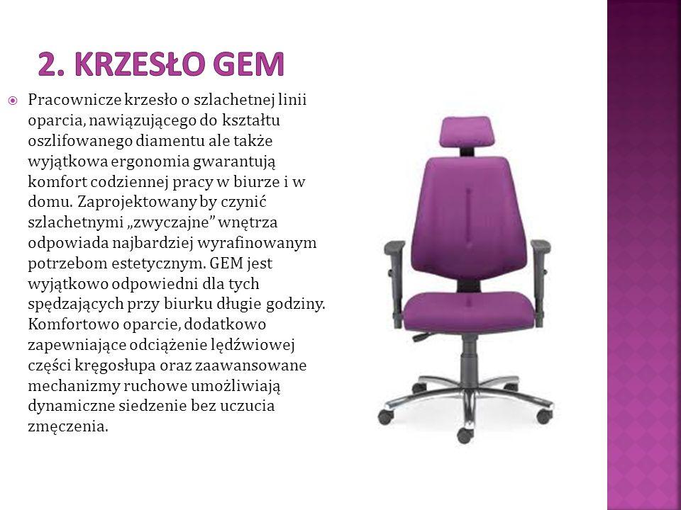 2. Krzesło gem
