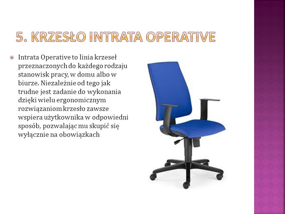 5. Krzesło intrata operative