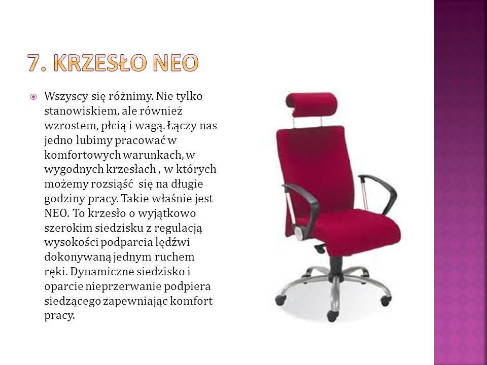 7. Krzesło neo