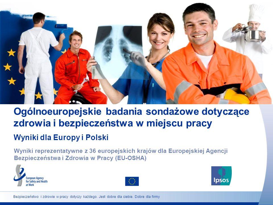 Ogólnoeuropejskie badania sondażowe dotyczące zdrowia i bezpieczeństwa w miejscu pracy