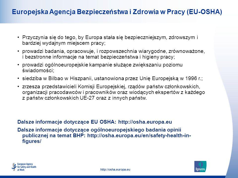Europejska Agencja Bezpieczeństwa i Zdrowia w Pracy (EU-OSHA)