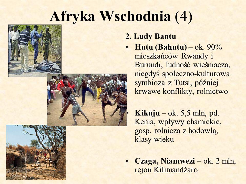 Afryka Wschodnia (4) 2. Ludy Bantu