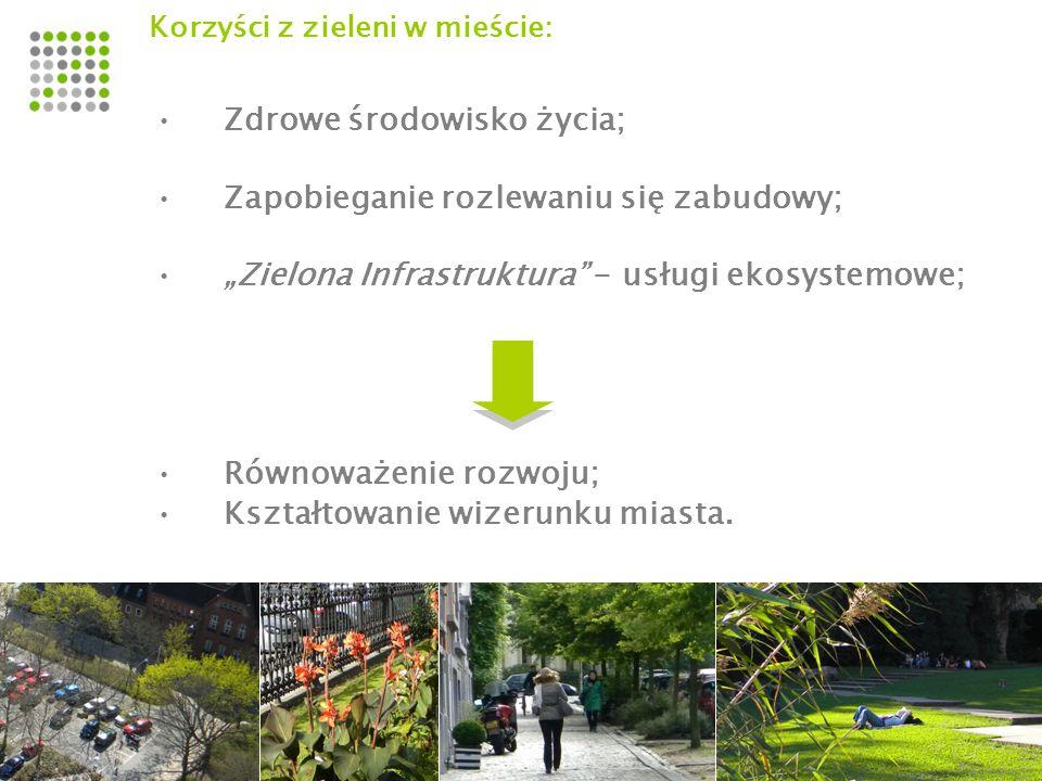 Zdrowe środowisko życia; Zapobieganie rozlewaniu się zabudowy;