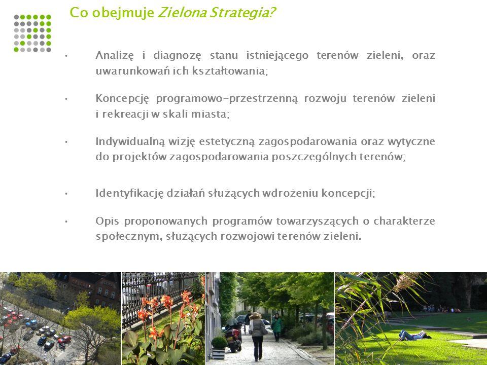 Co obejmuje Zielona Strategia