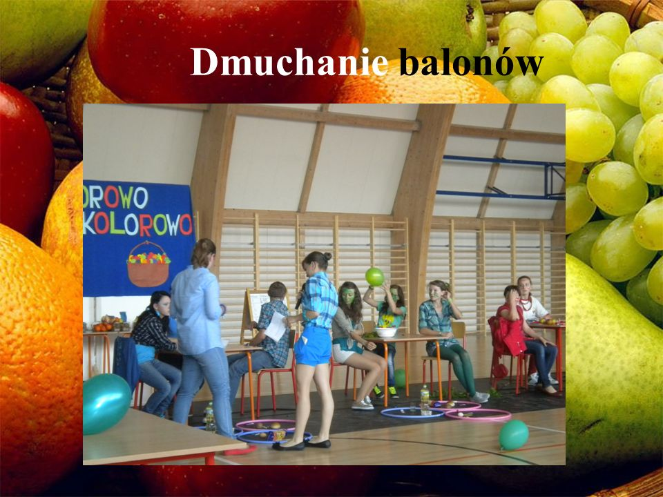 Dmuchanie balonów
