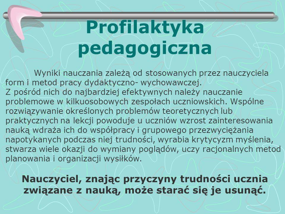 Profilaktyka pedagogiczna