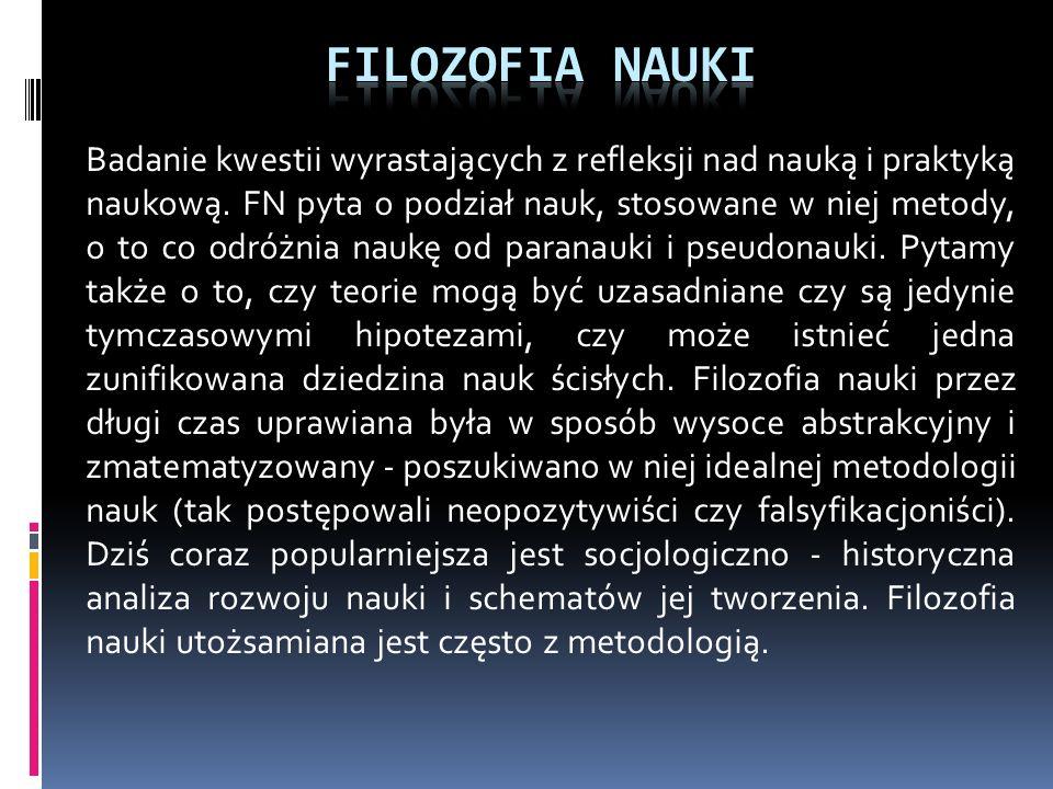 FILOZOFIA NAUKI