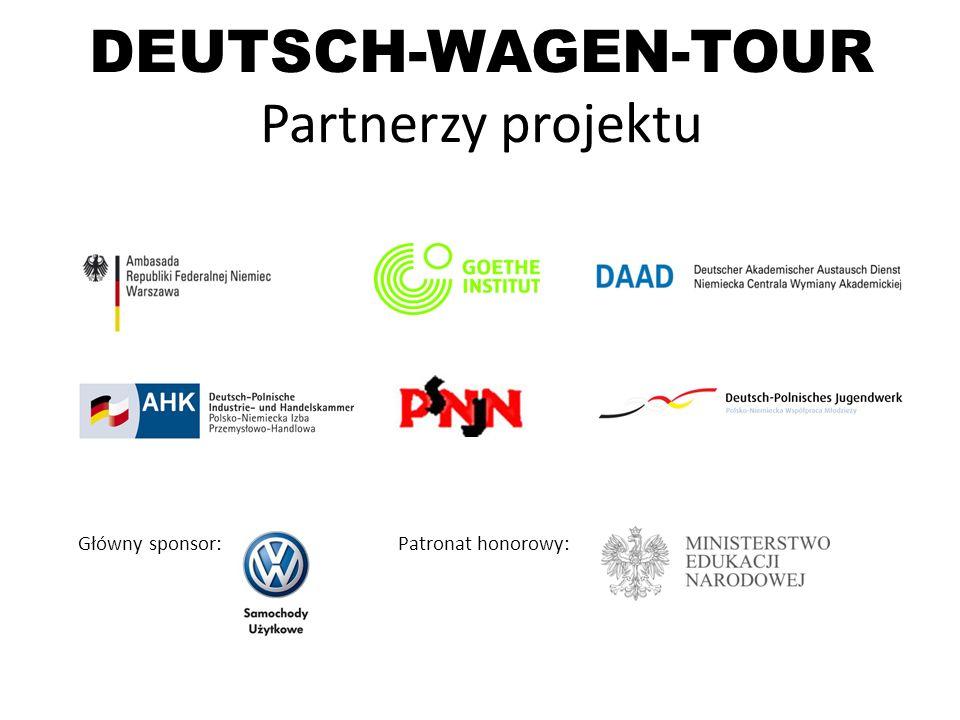 DEUTSCH-WAGEN-TOUR Partnerzy projektu