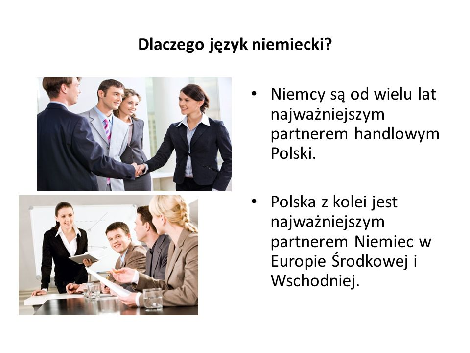 Dlaczego język niemiecki