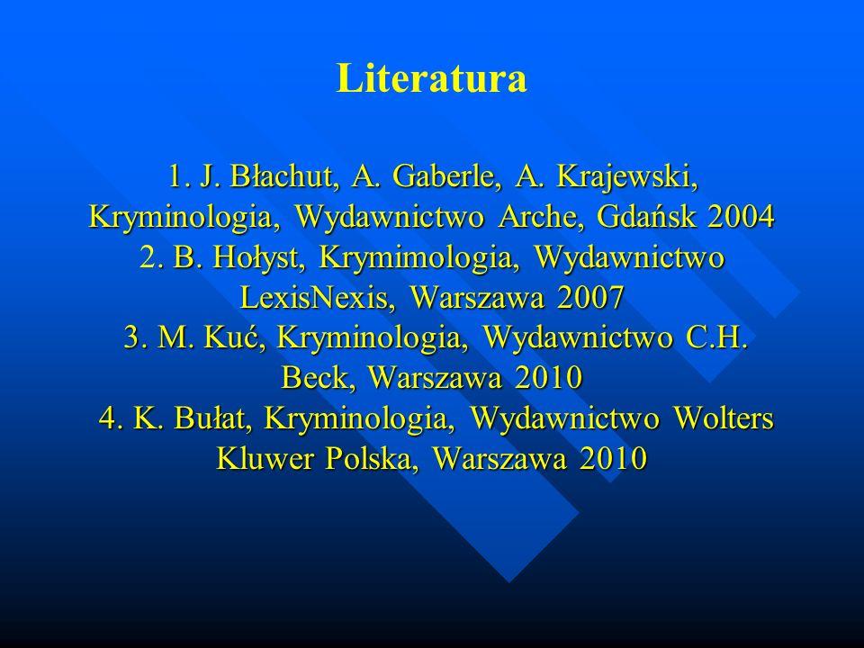 Literatura 1. J. Błachut, A. Gaberle, A