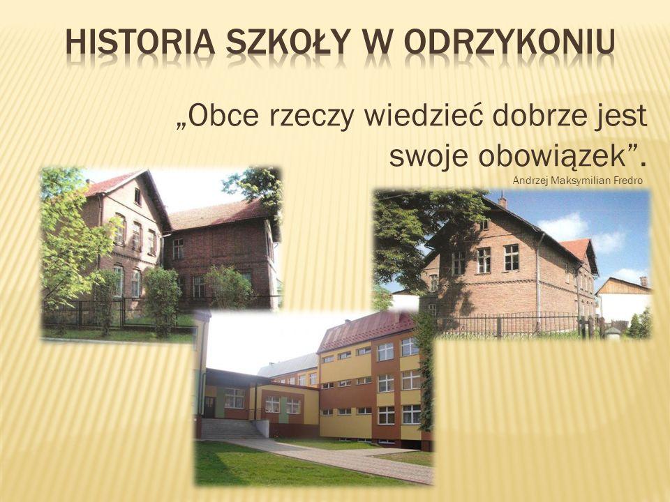 Historia szkoły w odrzykoniu