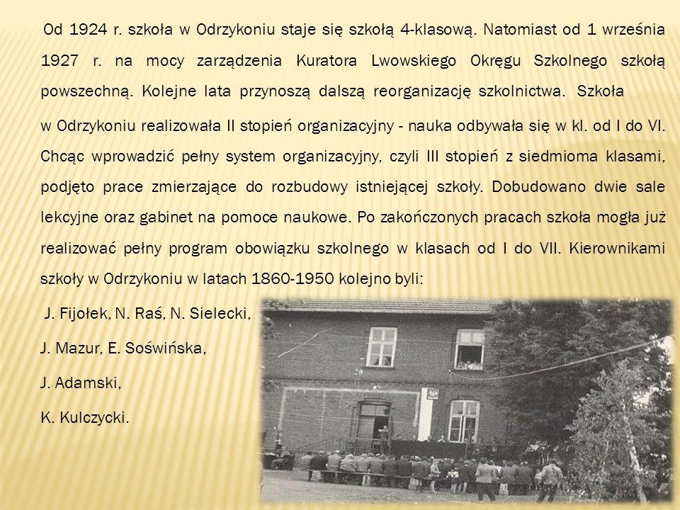 J. Fijołek, N. Raś, N. Sielecki, J. Mazur, E. Soświńska, J. Adamski,