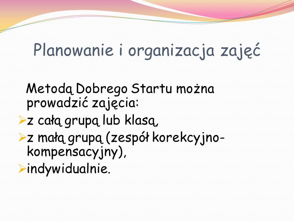 Planowanie i organizacja zajęć