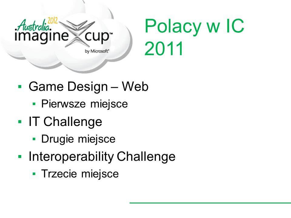 Polacy w IC 2011 Game Design – Web IT Challenge