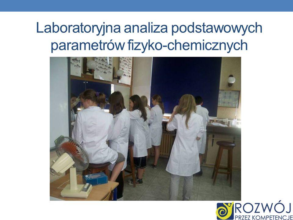 Laboratoryjna analiza podstawowych parametrów fizyko-chemicznych