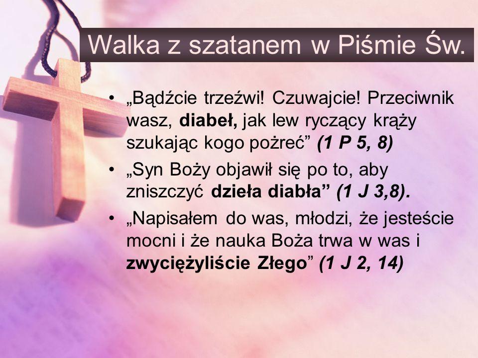 Walka z szatanem w Piśmie Św.