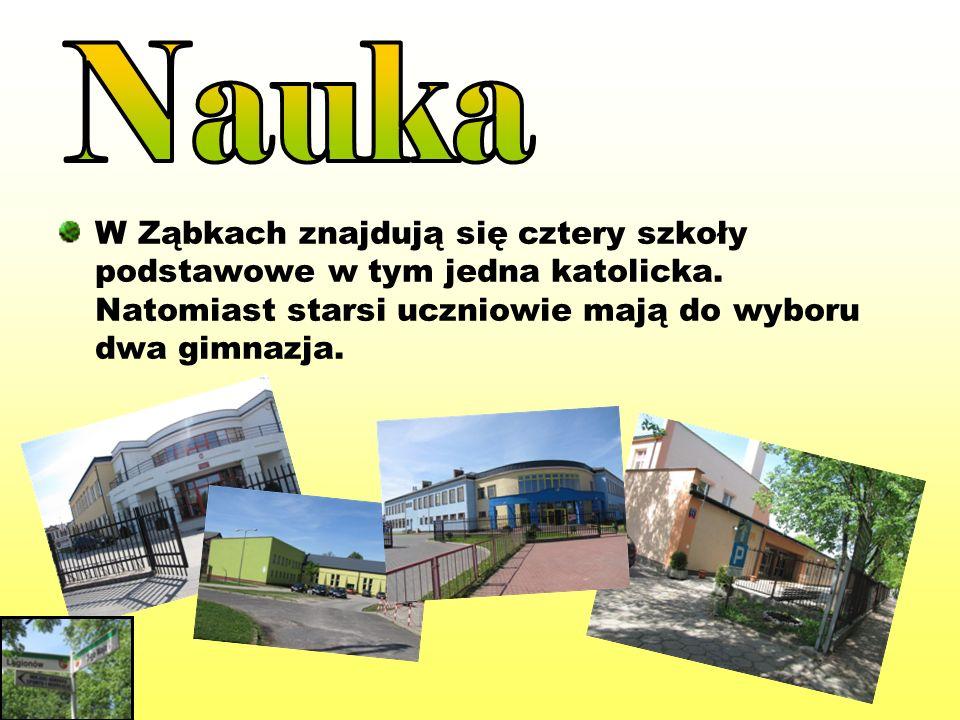 Nauka W Ząbkach znajdują się cztery szkoły podstawowe w tym jedna katolicka.