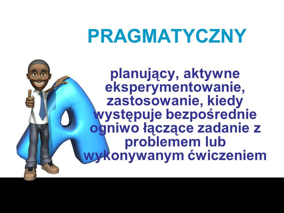 PRAGMATYCZNY