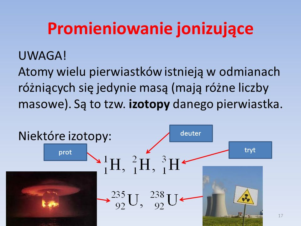 Promieniowanie jonizujące