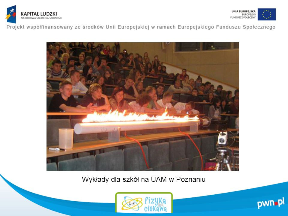 Wykłady dla szkół na UAM w Poznaniu