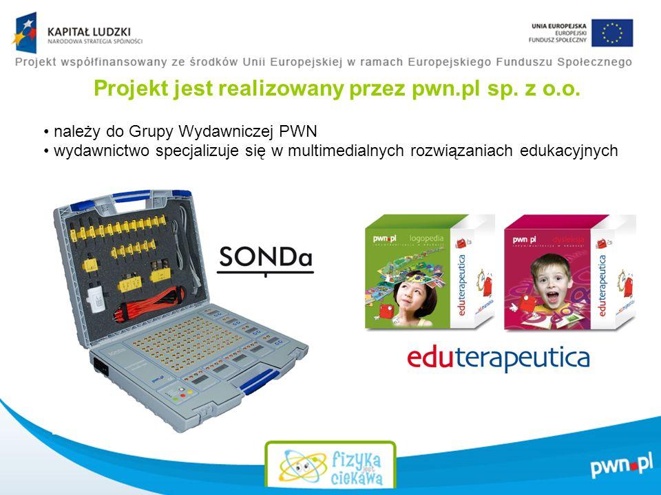 Projekt jest realizowany przez pwn.pl sp. z o.o.