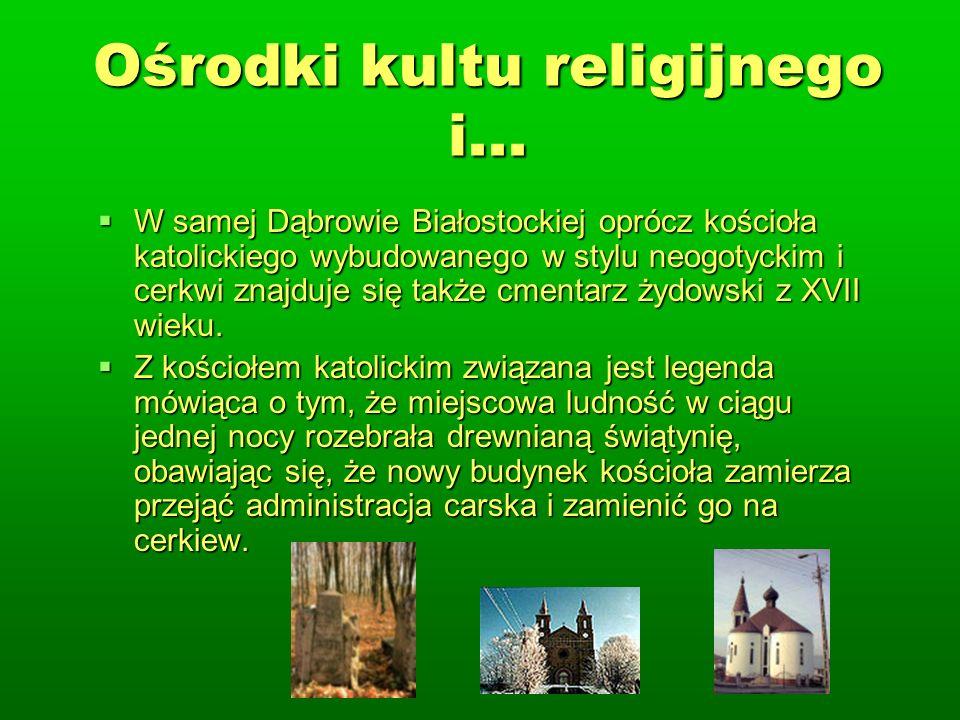 Ośrodki kultu religijnego i...