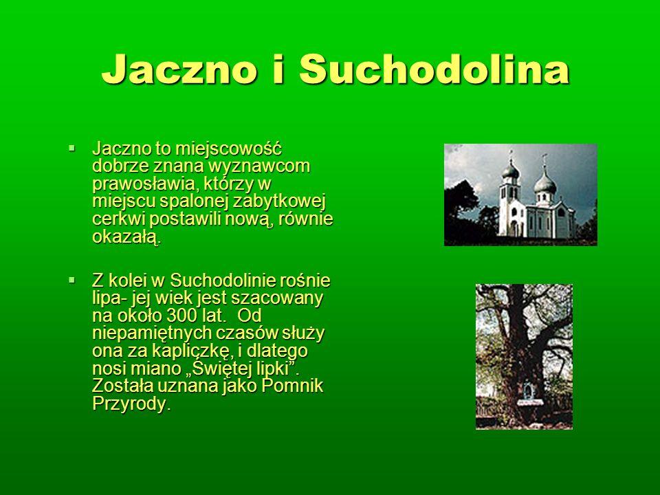Jaczno i Suchodolina